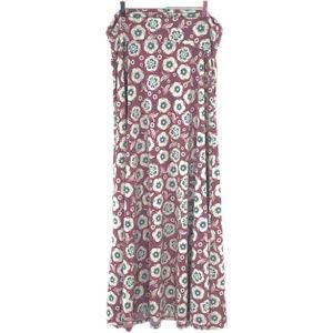 LULAROE Floral Slinky Maxi Skirt #RR3